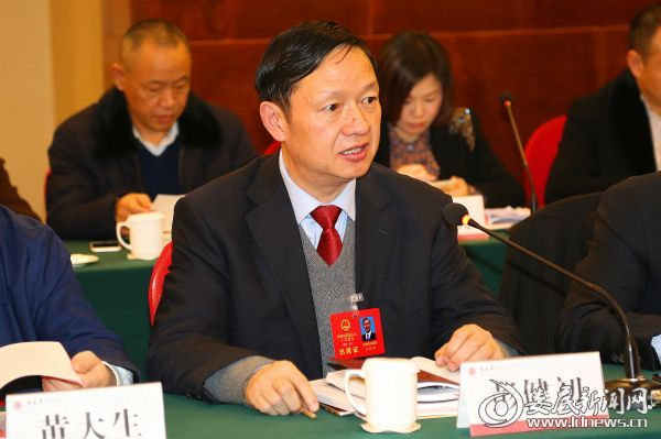 彭健初代表发言