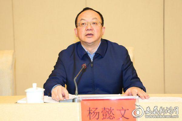 杨懿文在全市安全生产电视电话会议上讲话