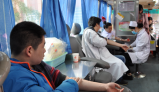 娄星区人民医院开展无偿献血活动