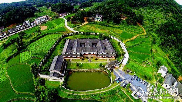 双峰曾国藩故里文化旅游区—白玉堂