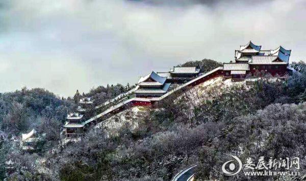 新化大熊山雪景