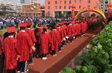 双峰县曾国藩学校举行成人礼仪式 《宪法》当作成人礼