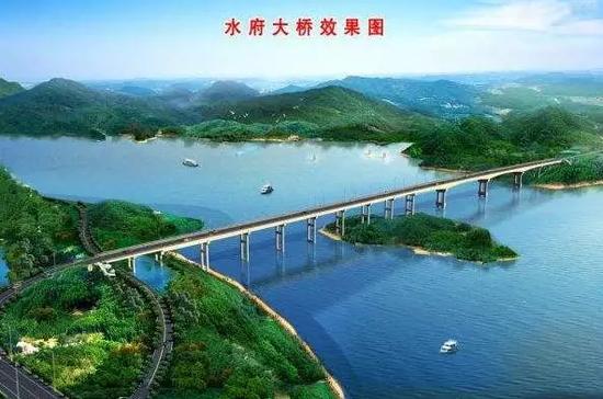 水府大桥效果图