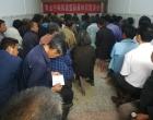 双峰县审计局到黄金村宣讲脱贫攻坚政策知识