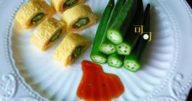 两种秋葵最原汁原味的吃法,超简单!夏天爽口菜