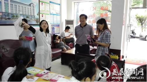 乐坪办事处行政主任颜志辉在活动现场