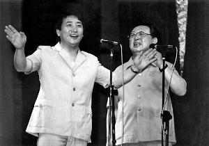 唐杰忠与姜昆同台表演