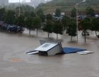 组图:娄底遭遇大暴雨袭击 80个乡镇27万人受灾