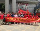 共青团涟源市委动员青年志愿者助力灾后重建