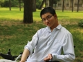 娄底学子朱晓鹏在清华:轮椅上 换一种姿势飞翔