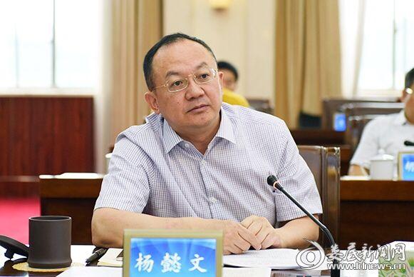 市委副书记、市长杨懿文