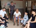 双峰县领导到永丰镇调研脱贫攻坚和信访维稳等工作