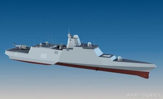 中国新型三体船高清模型