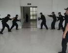 娄星公安分局举行警务实战技能战术集中演练