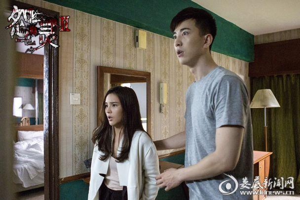 (电影《怨灵2》将映 李川李海娜猛鬼酒店体验极度惊恐)