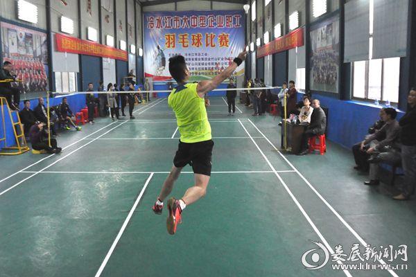 (湖南博长控股集团工会代表队在大赛中一举夺得男单冠军。熊又华摄)DSC_7658_