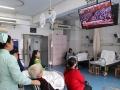 娄底市中心医院医患同看十九大开幕 对祖国未来充满信心