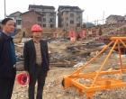 彭健初暗访督察娄星工业集中区污水处理厂项目建设情况