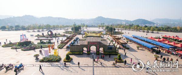 孙水公园展区全景