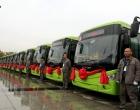 涟源首批20辆新能源纯电动公交车投运 市民可免费乘坐6天