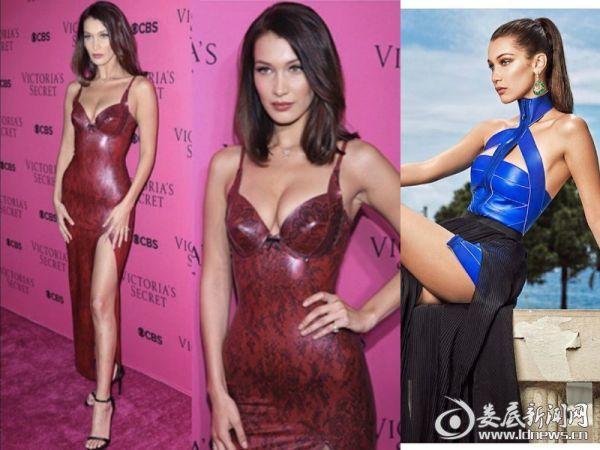 4.贝拉塑胶长裙优雅又时尚