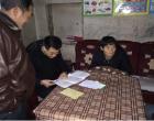 冷水江工业学校到太坪社区走访慰问困难群众