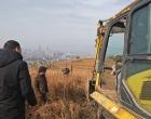 三塘铺镇修建万米防火隔离带预防森林火灾