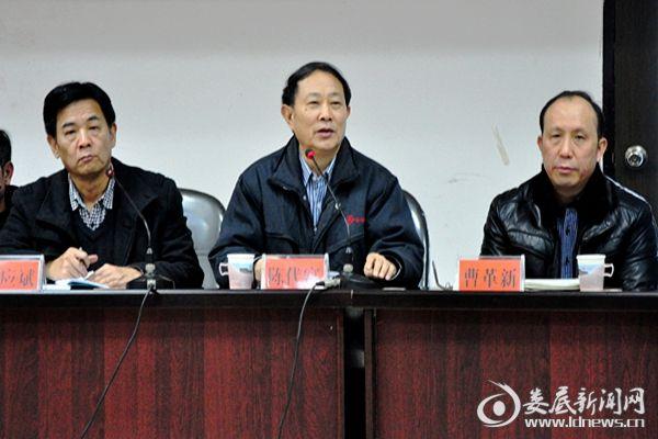 (湖南博长控股集团董事长陈代富提出2018年实现利润4.4亿元。)DSC_9301
