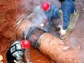 酷寒中的坚守——娄底乐坪西街供水管网抢修纪实
