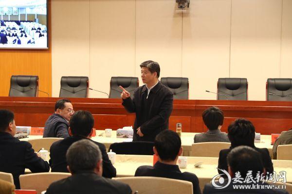 全省会议结束后,李荐国就贯彻落实会议精神提出要求