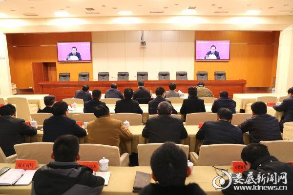 娄底收听收看湘江和洞庭湖治理工作视频会议