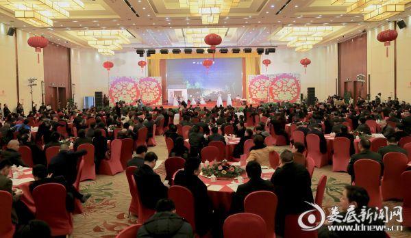 全市各界人士500多人欢聚一堂,共庆佳节,共叙情谊