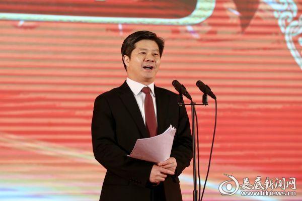 市委书记、市人大常委会主任李荐国发表热情洋溢的新春致辞