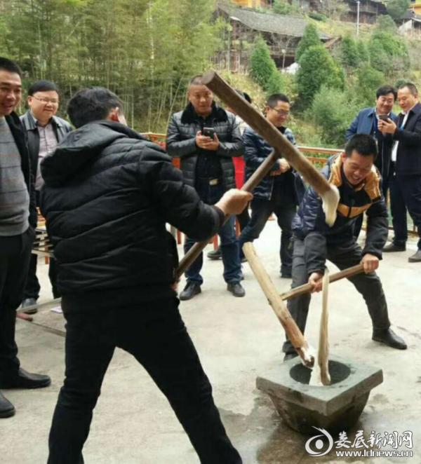 二0一八年湖南卫视新春走基层直播奉嘎山节目,