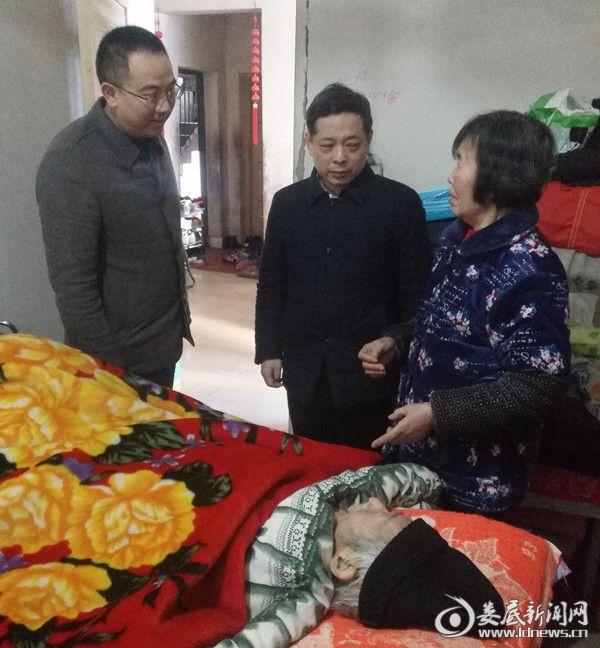 新化县人民医院党总支书记黄智勇、院长曾若戈
