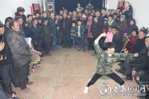 少林拳表演