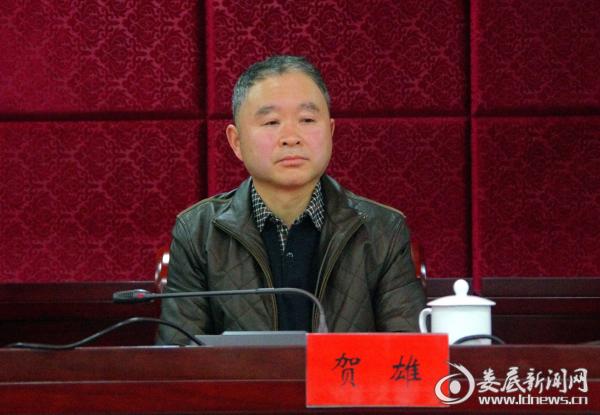 市发改委党组成员、副主任贺雄宣读了表彰决定