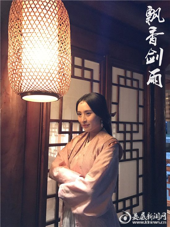 (汤晶晶饰演薛若璧)