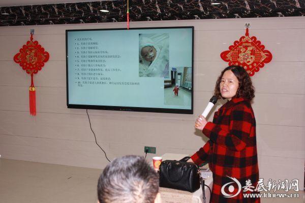 新化县人民医院高压氧室主任康星星授课