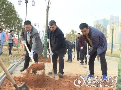 刘政文局长带头植树