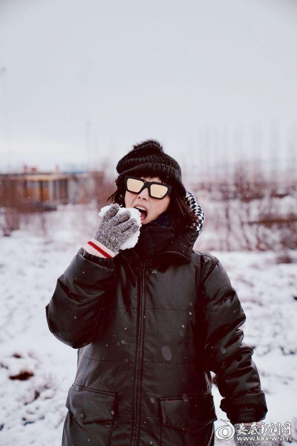 (何超仪地球最北首都开唱 冰岛雪地写真曝光)