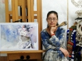 【新时代的奋斗者】女画家申朝晖:心体光明 绽放芳华