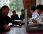 涟源市石马山镇卫生院开展流动人口医疗义诊志愿服务活动