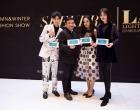 亿线文化演员余薇薇、郭美林子、西尔扎提亮相慈善活动