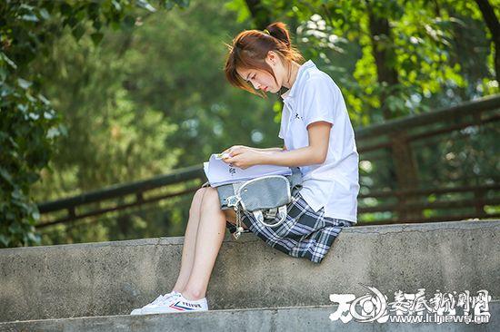 图三:邵芸饰大学时期的张一蕾