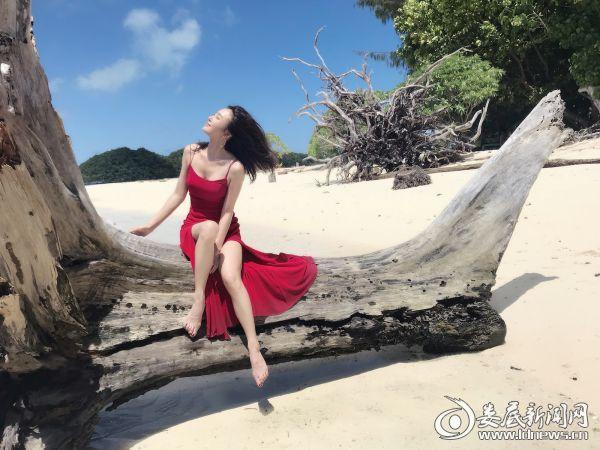 秦岚海滩写真4