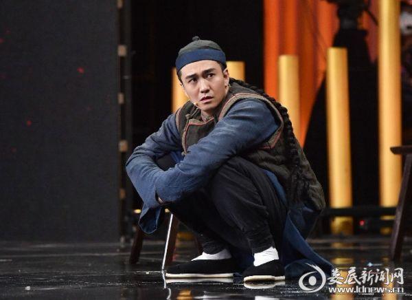 翟天临参加《演员的诞生》2