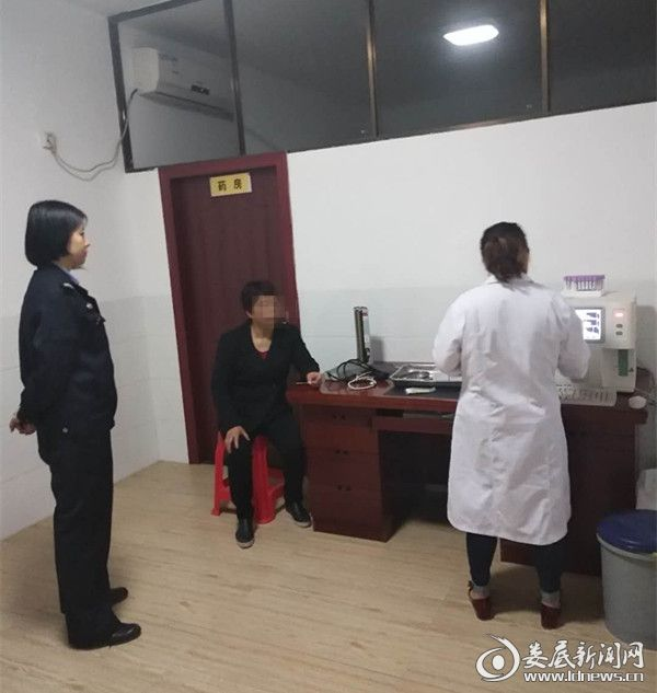 (被执行人在体检中心再次进行检查)