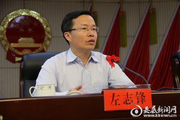 县委副书记、县长左志锋讲话