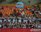 理想幼儿园花式篮球操嗨翻2018中国小篮球联赛(湖南娄底赛区)开幕式